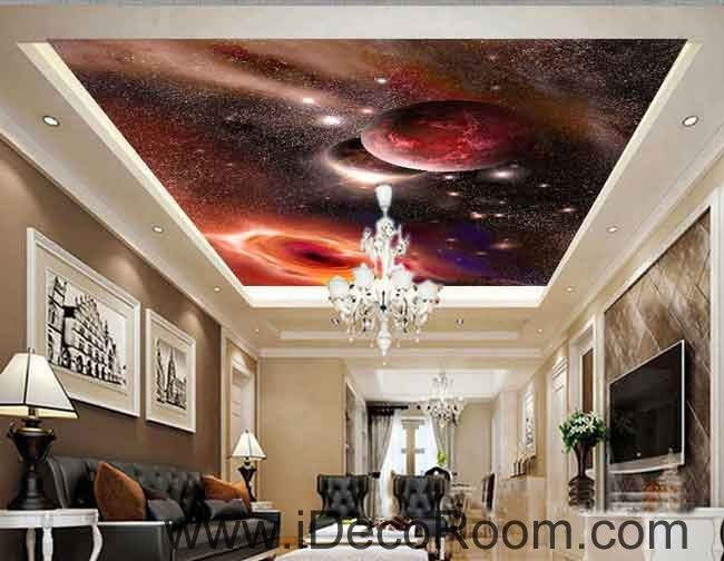 Planets Outerspace Galaxy Wallpaper Wall Decals Wall Art Print Business  Kids Wall Paper Nursery Mural Home Part 48
