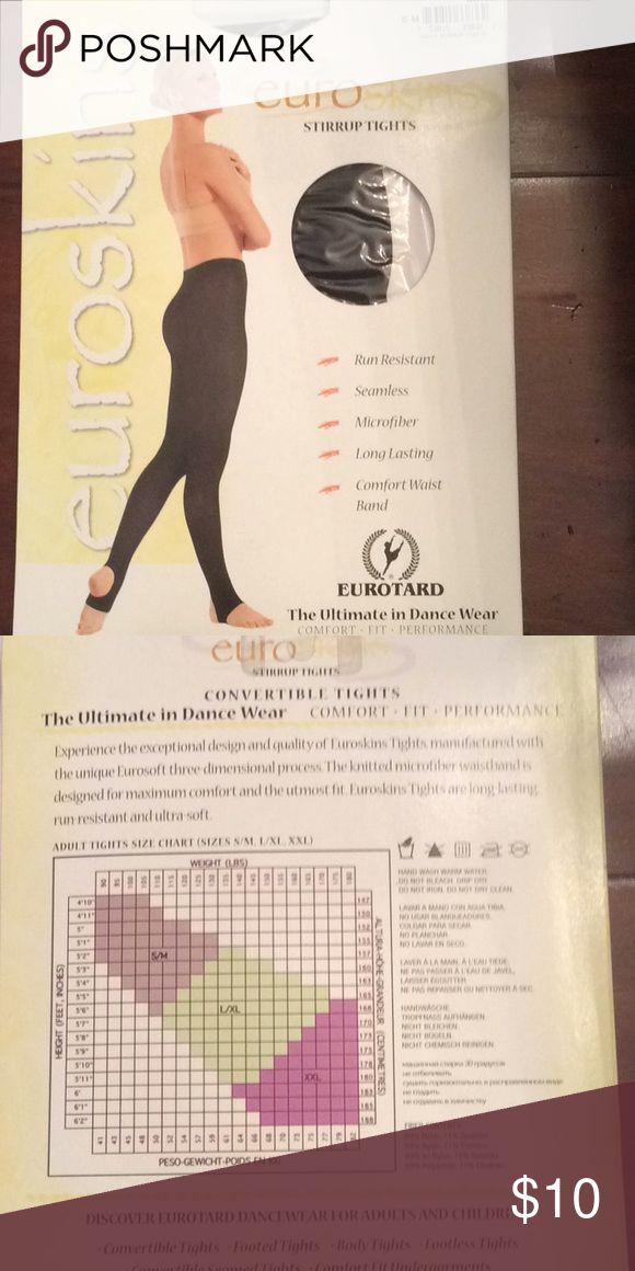 da87e5ccbd97f Eurotard Women's Stirrup Tights Style 217 Boutique | My Posh Closet |  Pinterest | Tights, Women and Style