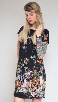 Einfaches Kleid in A-Linie zum Selbernähen - Nähanleitung und Schnittmuster via Makerist.de