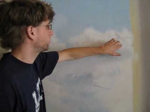 How to paint clouds - Mural Joe