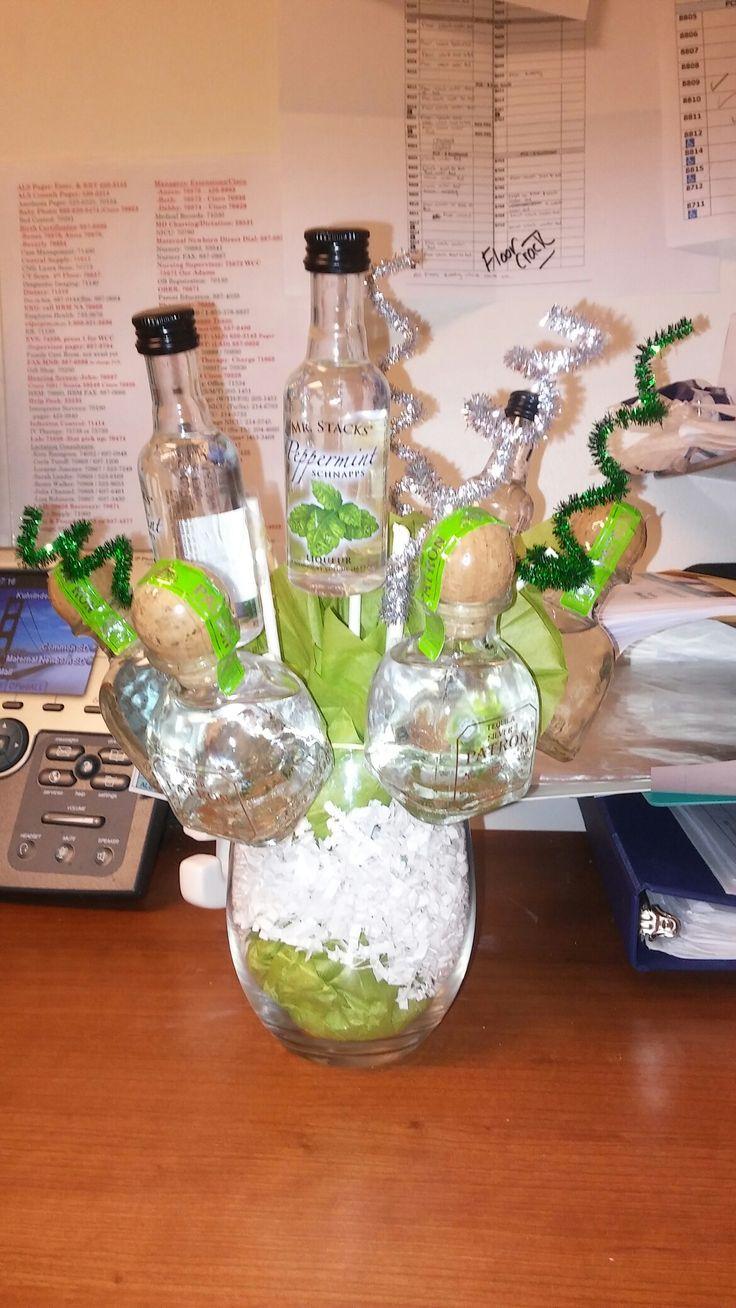 Mini alcohol bouquet