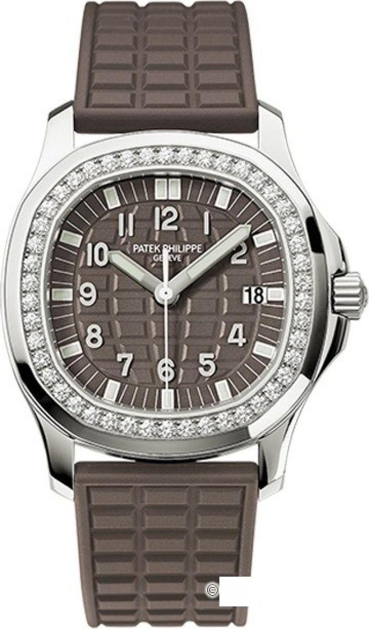 Patek Philippe 5067A-023 Aquanaut Steel - швейцарские женские наручные часы  - белые, коричневые