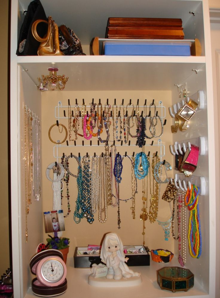 34 best jewelry holders closet images on Pinterest Organization