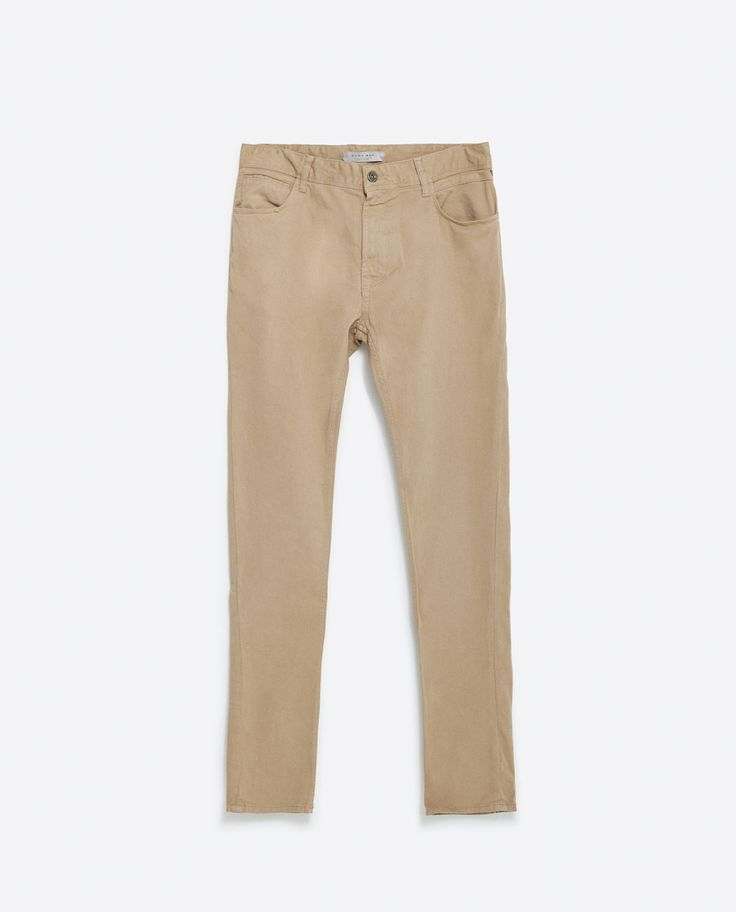 Image 6 of BASIC TROUSERS from Zara