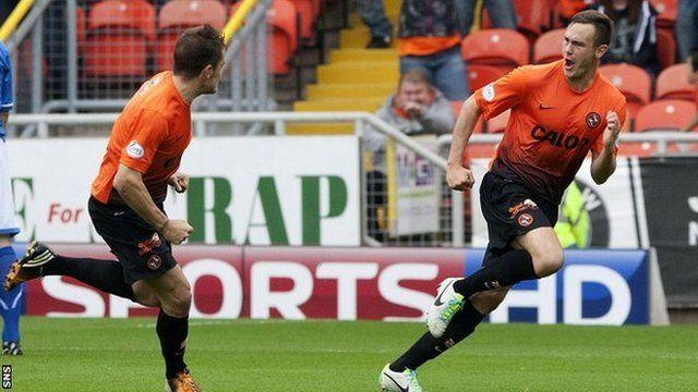 BBC Sport - Dundee Utd 4-0 St Johnstone