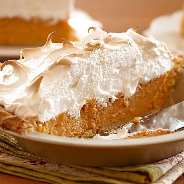 Sweet Potato Pie with Marshmallow Meringue | Recipe | Thanksgiving ...