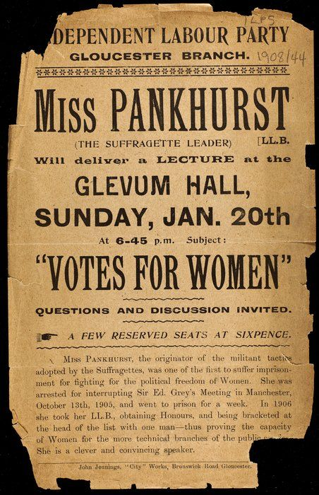 The Women's Library @ LSE (London School of Economics) digital collections include a representative selection of the personal, political, and economic struggles that have symbolized women's battle for equality over the past 500 years. The collection includes pamphlets, magazines, journals, documents, photographs, postcards, and books.