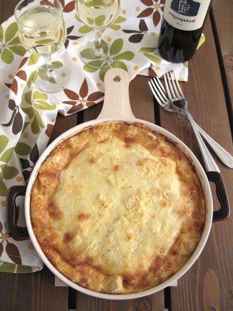 Σουφλέ με 4 τυριά και γιαούρτι - The one with all the tastes