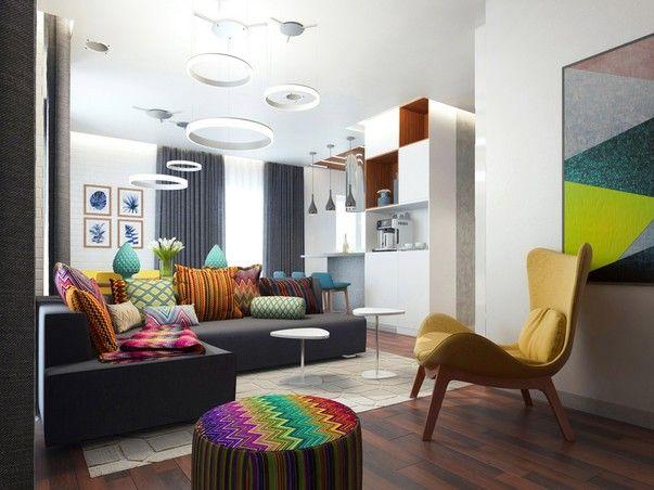 Заказчиками этого проекта стали выходцы из России, проживающие в Германии. Это было их первое не съемное жилье вдали от Родины, и они хотели создать в нем «дом своей мечты».