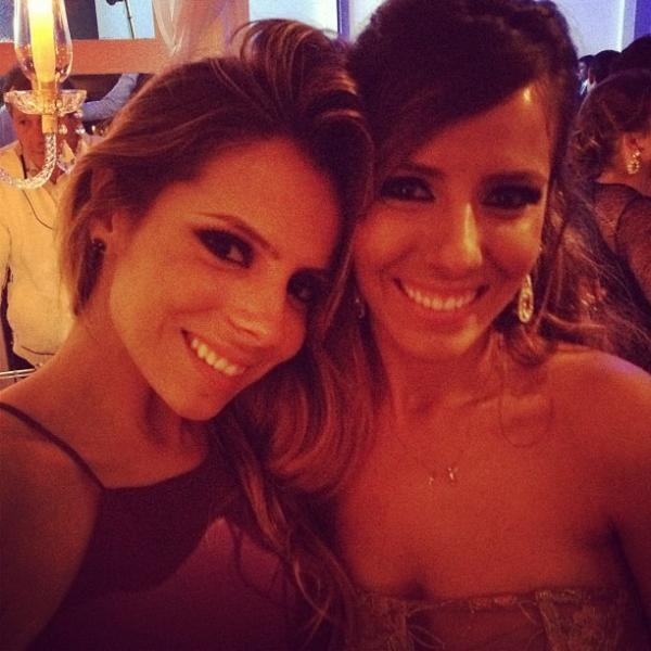 As lindas Raissa e Paola Machado!