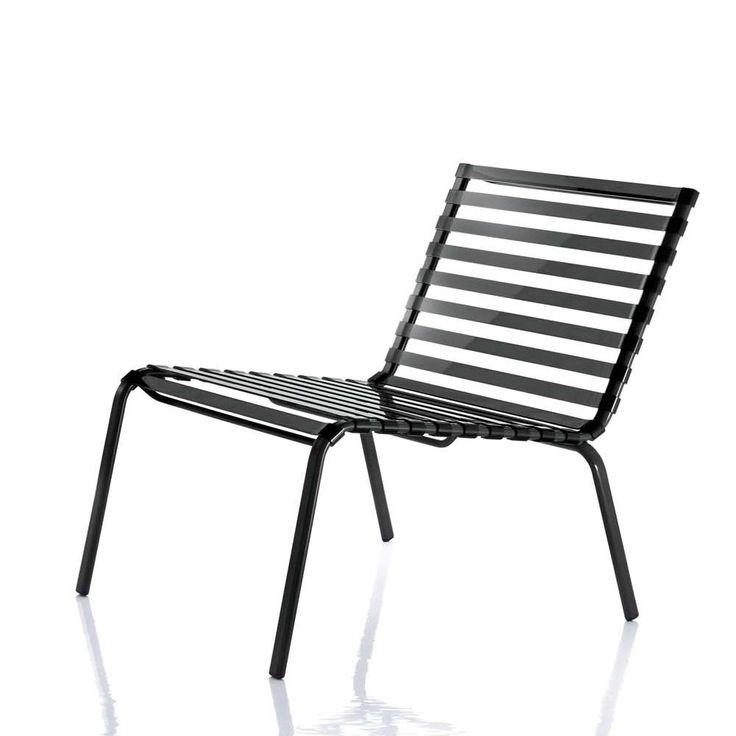 Striped Low Chair   Magis Striped Auch Mit Armlehnen Lieferbar. Material:  Gestell Aus Rostschutzbehandeltem