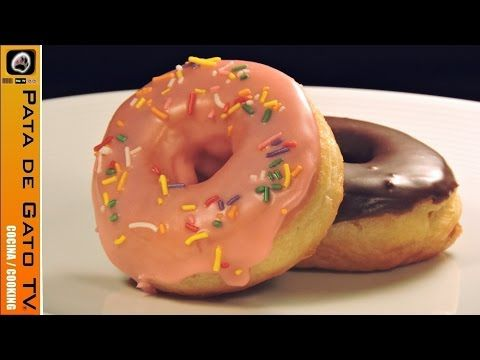 Como hacer donas glaseadas, paso a paso / How to make glazed donuts, step by step - YouTube