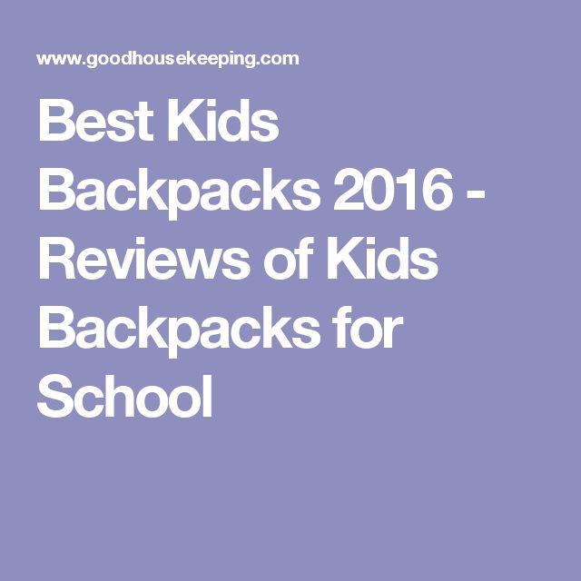 Best Kids Backpacks 2016 - Reviews of Kids Backpacks for School