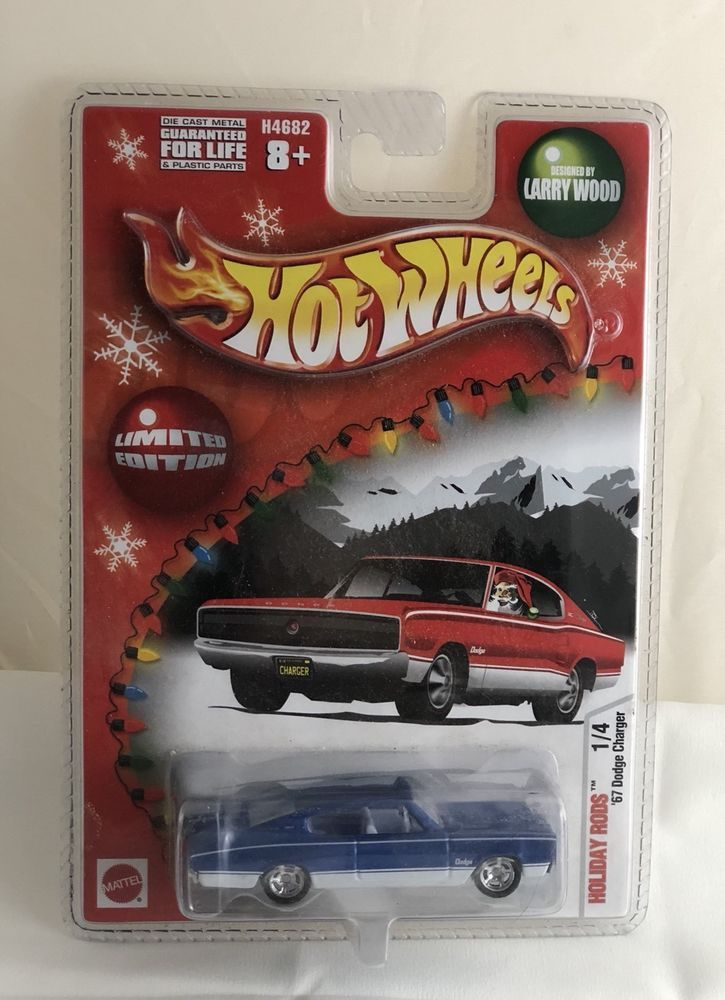 hot wheels holiday rods blue 67 dodge charger toys hobbies rh pinterest com