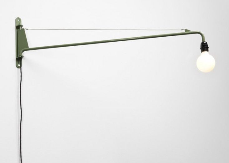 Jean Prouve light, a reissued midcentury design from the new G Star Raw Office Edition Collection made by Vitra