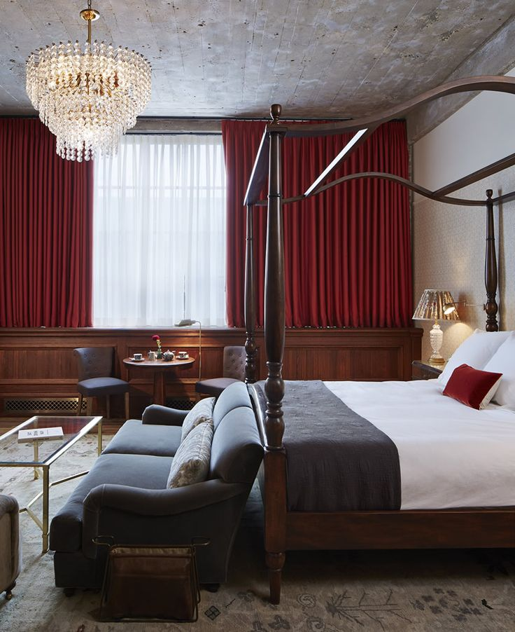 Home comforts and eclectic artwork await at London import hotel... http://www.we-heart.com/2014/10/20/soho-house-chicago/