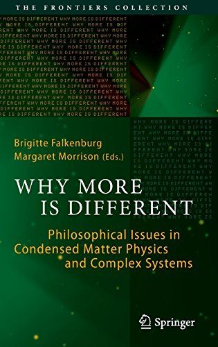 Download Why More Is Different: Philosophical Issues in Condensed Matter Physics and Complex Systems (The Frontiers Collection) ebook free