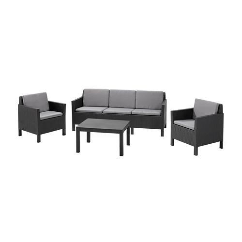 Die besten 25+ Gartenmöbel set sale Ideen auf Pinterest Ikea - loungemobel garten grau