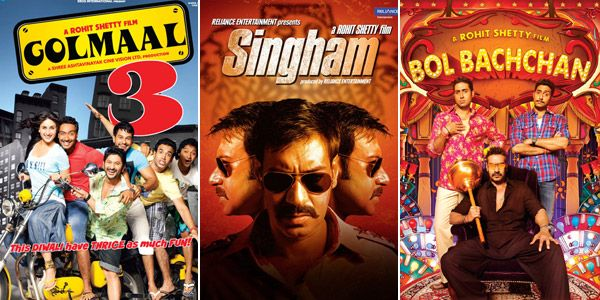 Golmaal 3, Singham Returns, Bol Bachchan – 7 films that prove Ajay Devgn and Rohit Shetty only spell blockbusters #FansnStars