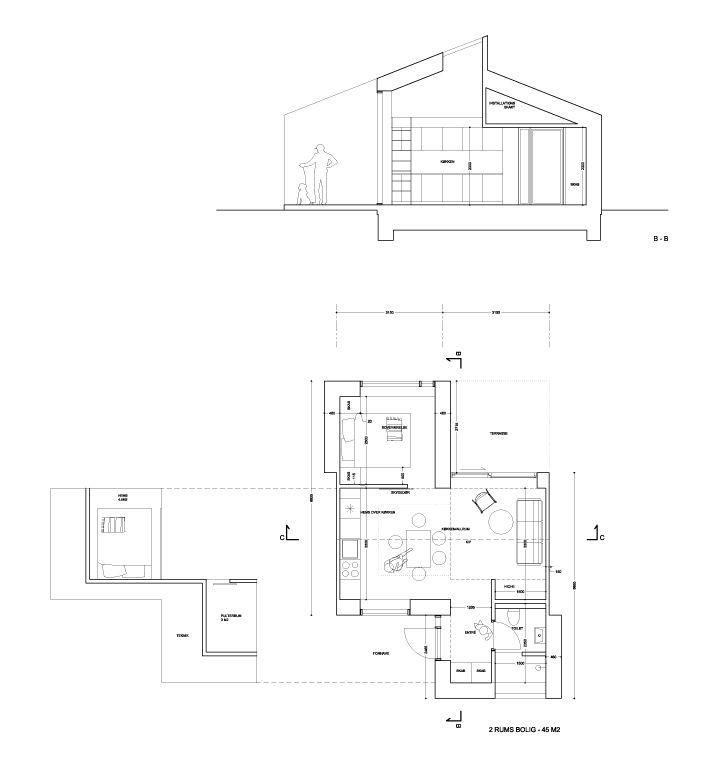 House Type B, 45m2