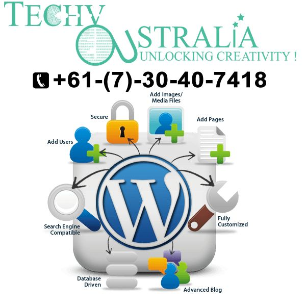 +61-(7)-30-40-7418 Techy Australia Website development company