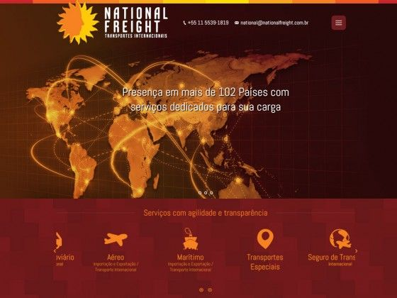 Transportes Internacionais NATIONAL FREIGHT - FIRE MÍDIA http://firemidia.com.br/geopost-da-franca-compra-60-da-jadlog/