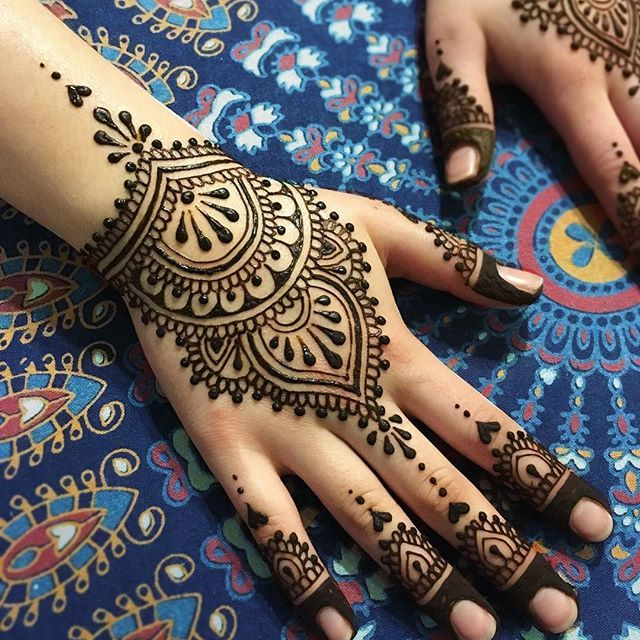 BRIDAL henna I designed for Narges last weekend Both hands and palms •  ✵☽♚ ✧ for more follow on INSTA @love_ushi OR PINTEREST @ANAM SIDDIQUI ✧ ╳ ♡