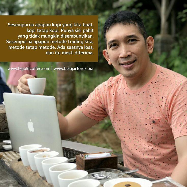 Sesempurna apapun kopi yang kita buat, kopi tetap kopi. Punya sisi pahit yang tidak mungkin disembunyikan.  Sesempurna apapun metode trading kita, metode tetap metode. Ada saatnya loss dan itu mesti diterima.  www.fxgoldcoffee.com | www.belajarforex.biz  #FXGoldCoffee #DrinkCoffeeMakeMonee #kopi #kopiindonesia #coffee #coffeeshop #coffeecafe #coffeetime #coffees #forexcoffee #goldcoffee #optionscoffee #stockcoffee