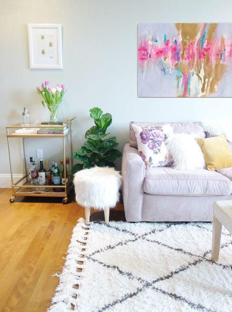Olvasói otthon: albérletben is stílusosan | Kicsi Ház