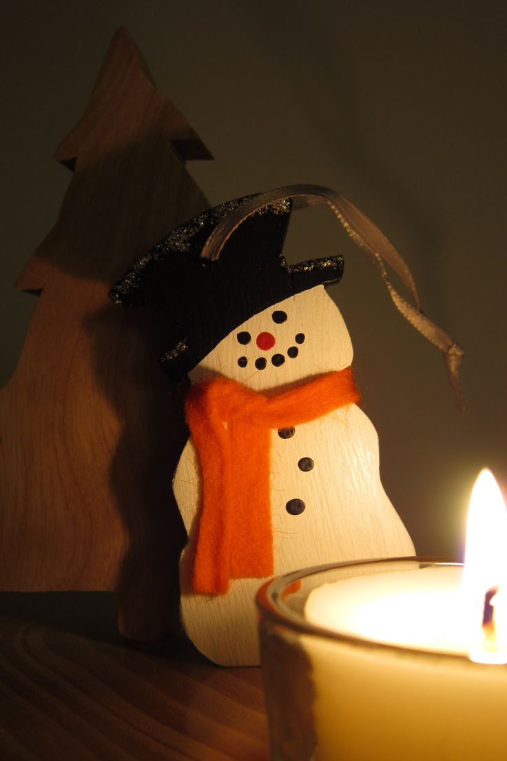 Snowman Christmas decoration.