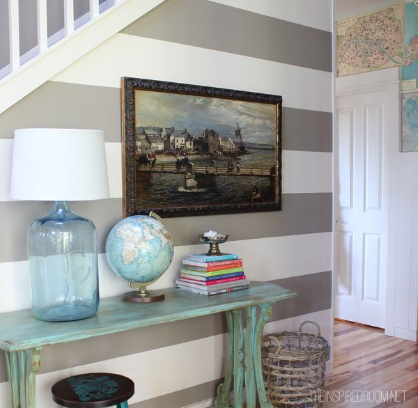 25 Best Ideas About Striped Accent Walls On Pinterest: Best Way To Paint Horizontal Stripes On Wall.How To Paint