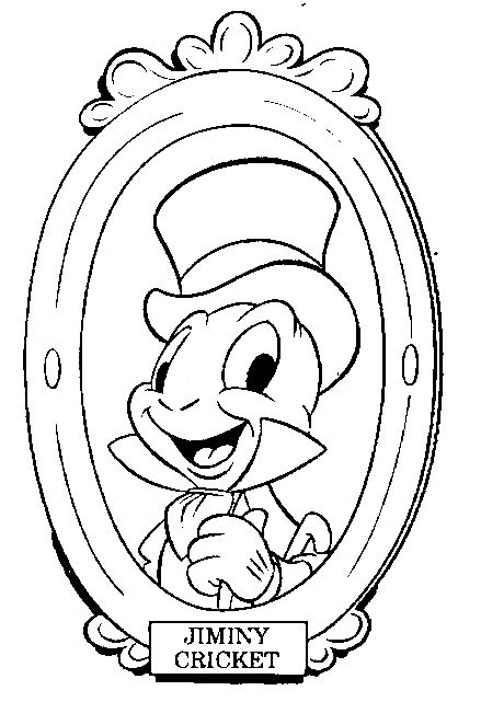 Pinocchio Color Page, Disney Coloring Pages, Color Plate, Coloring  Sheet,printable Coloring