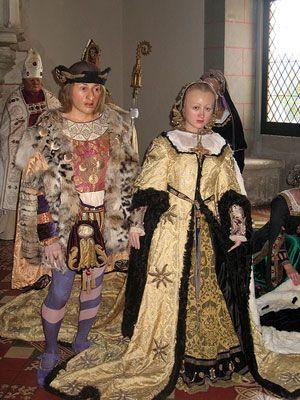 Reconstitution du mariage d'Anne de Bretagne et de Charles VIII