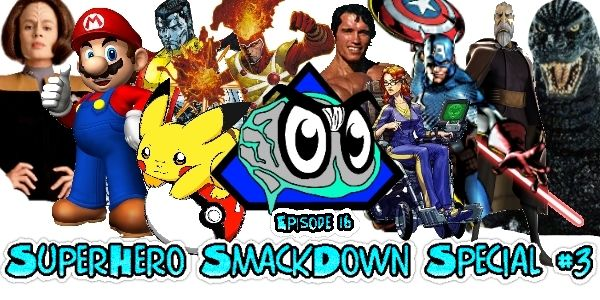 Ep. 16 - SuperHero SmackDown Special #3    Plus Harrison Ford talks Star Wars Episode 7 Han Solo, Peter Jackson talks directing Doctor Who, Grant Morrison talks the death of Robin aka Damien Wayne, Elder Scrolls Online preview, De-Extinction becoming a reality, Scotland allows Jedi to officiate marriages and more!    #NerdPodcast #GeekPodcast #Podcast #SuperNerd #Nerd #NerdCast