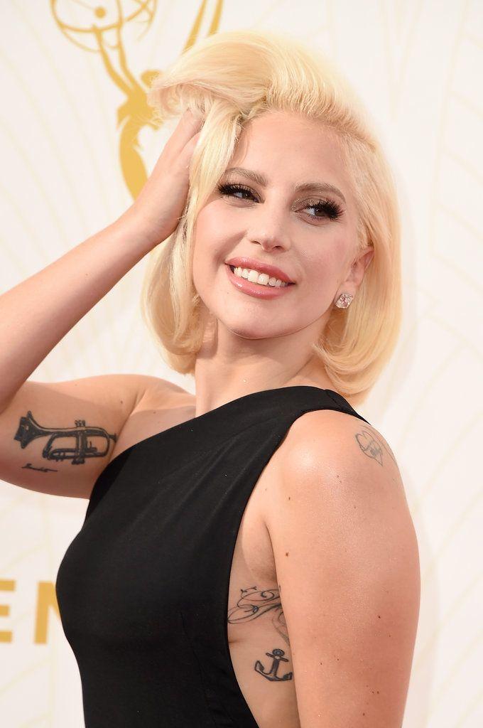 Lady Gaga's Dress at Emmys 2015 | POPSUGAR Fashion