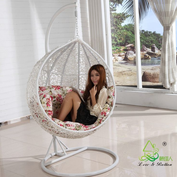 kids hanging chair for bedroom%0A Hanging Egg Chairs For Bedrooms   Hanging Egg Chairs For Bedrooms With  Ceramic Floor