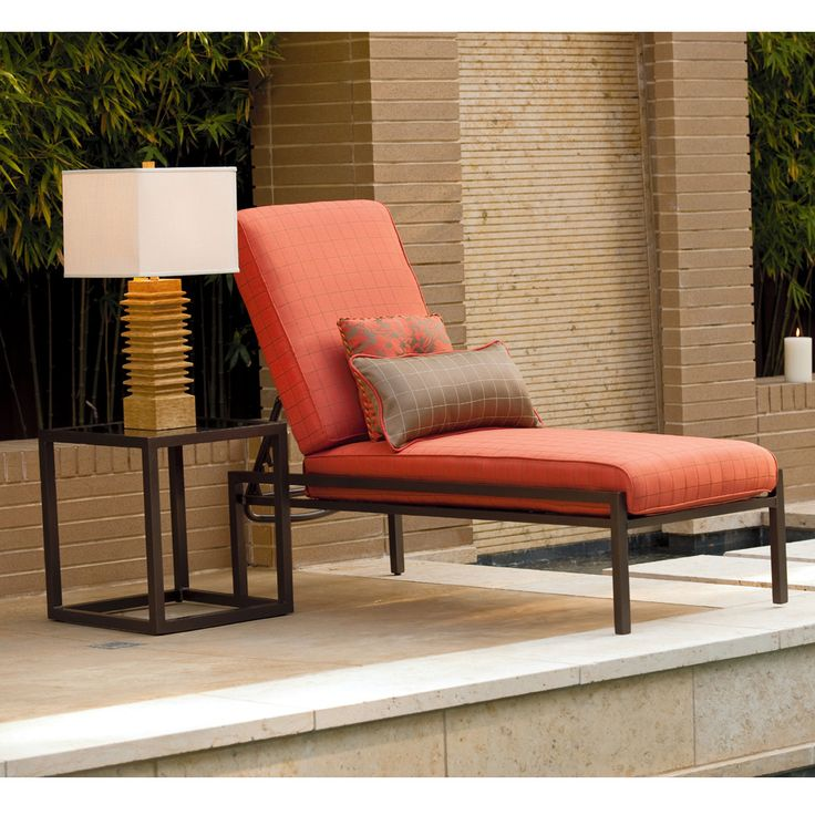 Ultra contemporary Chaise Lounger created by renowned designer
