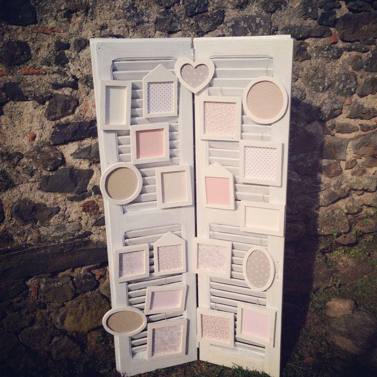 Tableau de mariage shabbychic  www.conleballerineverdi.it