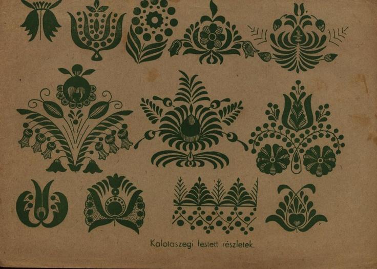 Kalotaszegi festett minta