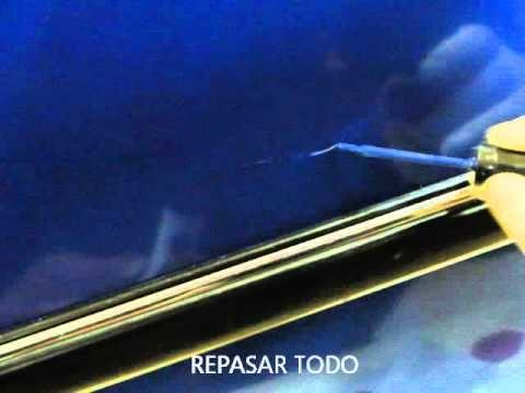 COMO QUITAR UN ARAÑAZO CON UN PINCEL DE PINTURA EN MI VEHICULO.  # Grabaciones # Videos # Cadenas # cadenas nieve # mantenimiento # transporte # neumaticos # carroceria #arañazo # pintura