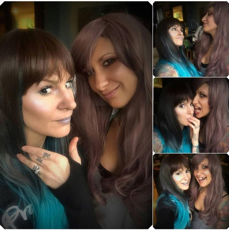 Wigs friends are the best friends  @iron_heart3 And @solokill . . #lushwigsbluemoon #lushwigstarot #lushwigs #wigs #syntheticwigs #wig #lushwig  Lushwigs.com (link in bio)