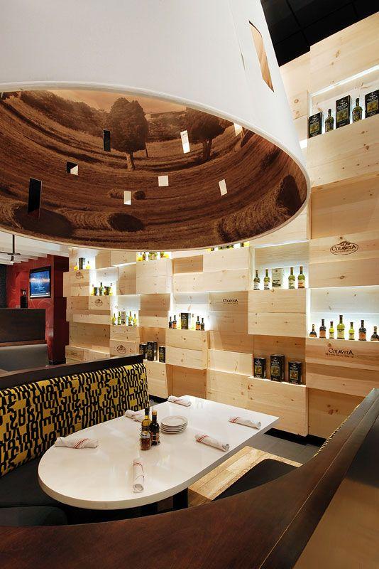 Marios Osteria Bocan Raton FL Designed By ID Design International
