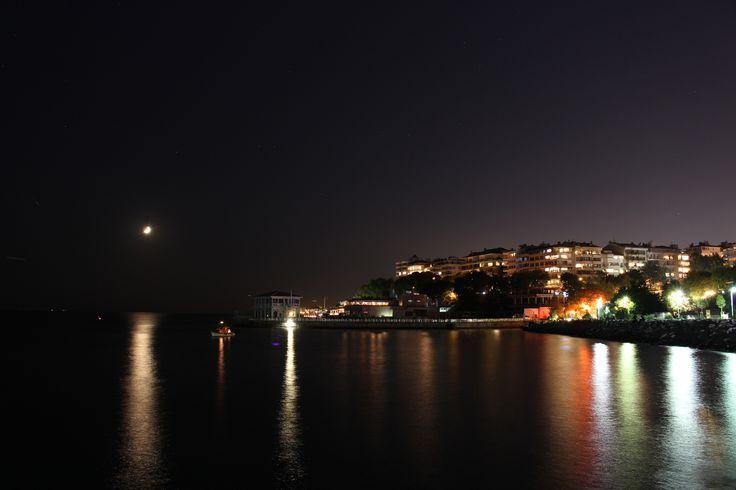 Moon and sea by Oğuzhan Karaçakır - Photo 122483429 - 500px