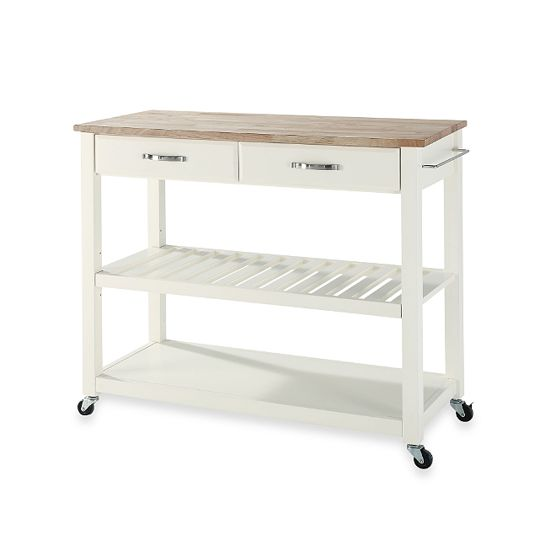 Portable Kitchen Island A Rolling Cart With Countertop: 5 Great Kitchen Islands Under $300