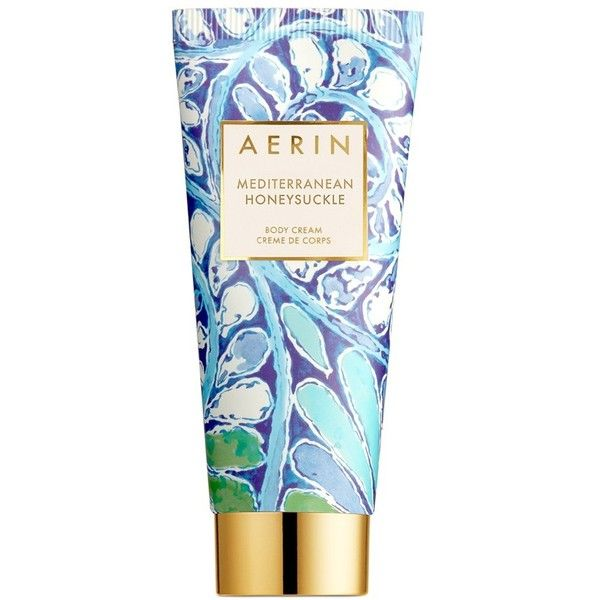 AERIN Beauty 'Mediterranean Honeysuckle' Body Cream (410 HRK) ❤ liked on Polyvore featuring beauty products, bath & body products, body moisturizers, no color, body moisturizer and estée lauder