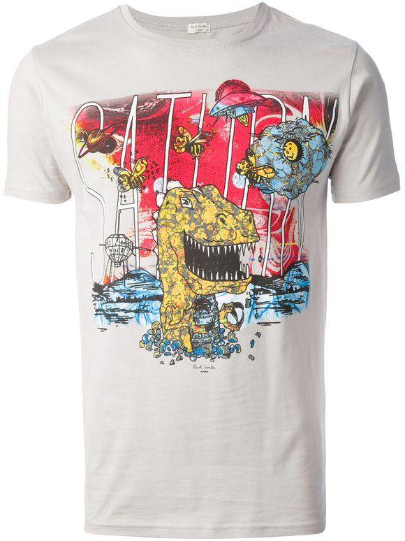 PAUL SMITH JEANS printed t-shirt | Camiseteca