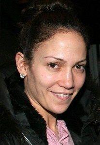 Jennifer Lopez Without Makeup selfie VIsit  www.celebgalaxy.com