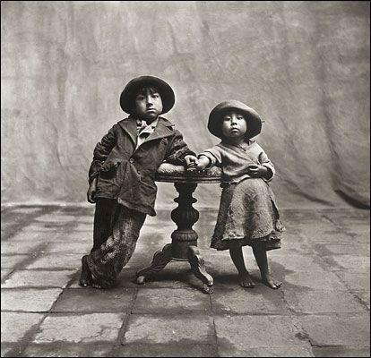 Irving Penn's Extraordinary Portrait Photographs