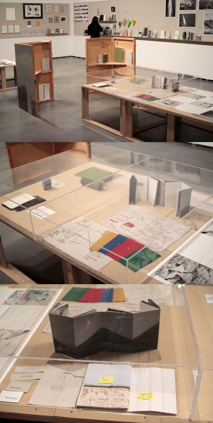 "Bside Books by Carlos Albalá e Ignasi López. Exposición ""AutoEdit"" Centro de Arte Contemporáneo de Huarte (Navarra). 2014."