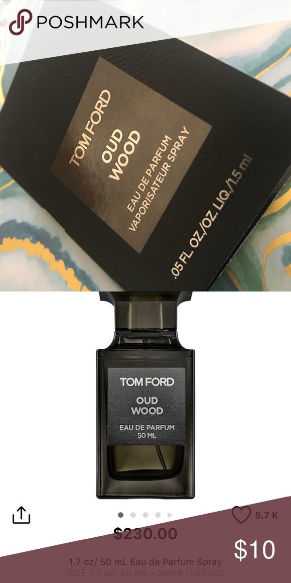 2X Tom Ford Oud Wood Sprays Tom Ford Oud Wood travel sprays. 2X .05oz each. Never used. New from Sephora. Full size photo is for reference price Tom Ford Makeup